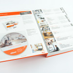 Katalog z registrami i CD