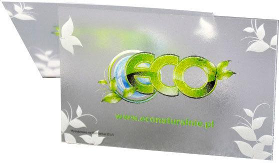 Wizytówka plastikowa ECO