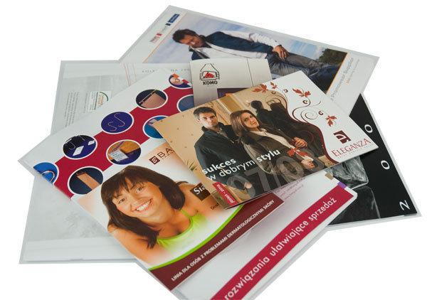 Foldery reklamowe